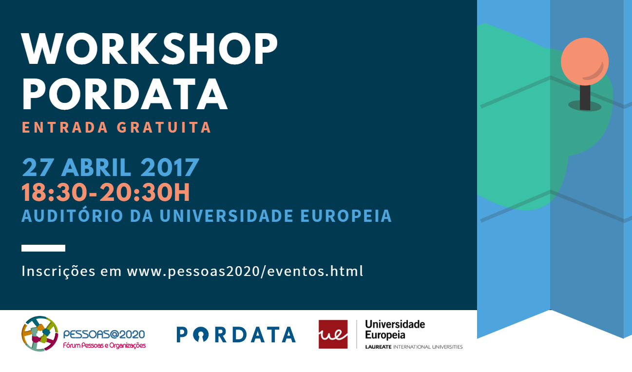 WORKSHOP PORDATA - LISBOA: A Base de Dados de Portugal Contemporâneo